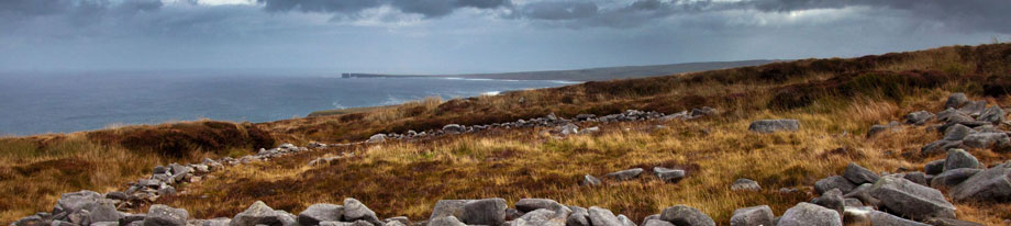 Irland Rundreise Ceide Fields Donegal