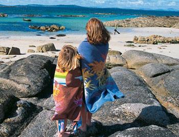 Irland Familienurlaub Kinder Strand
