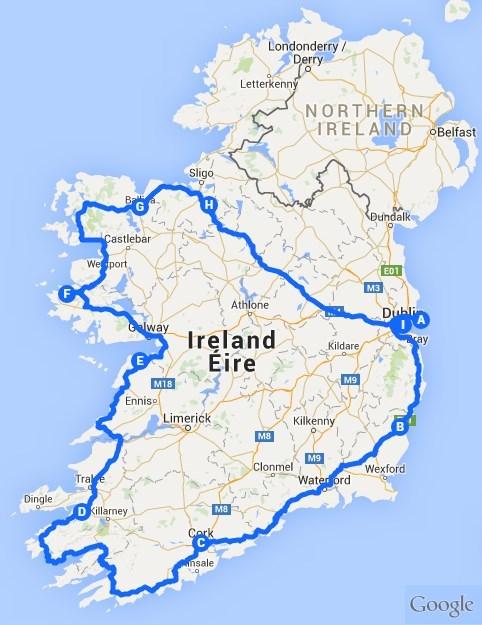 Herrenhaustour Ireland
