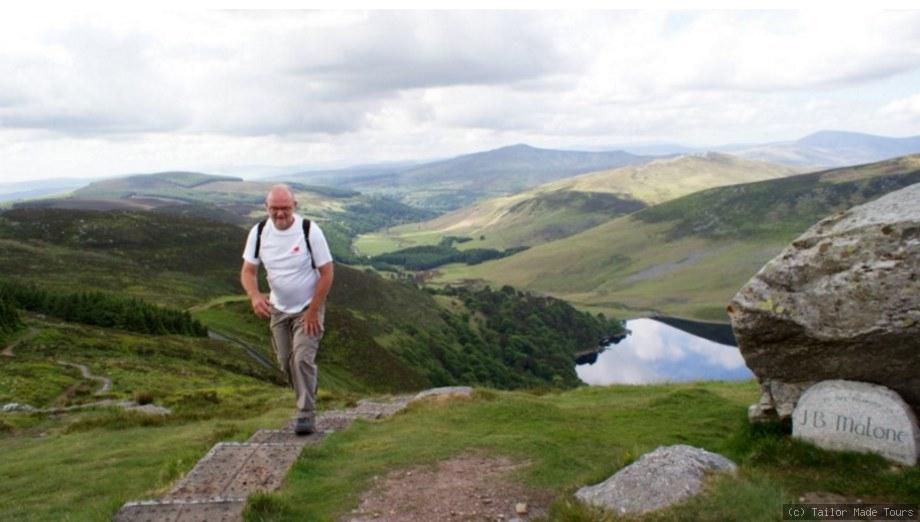 Wandern auf eigene Faust in den Wicklow Mountains Irland