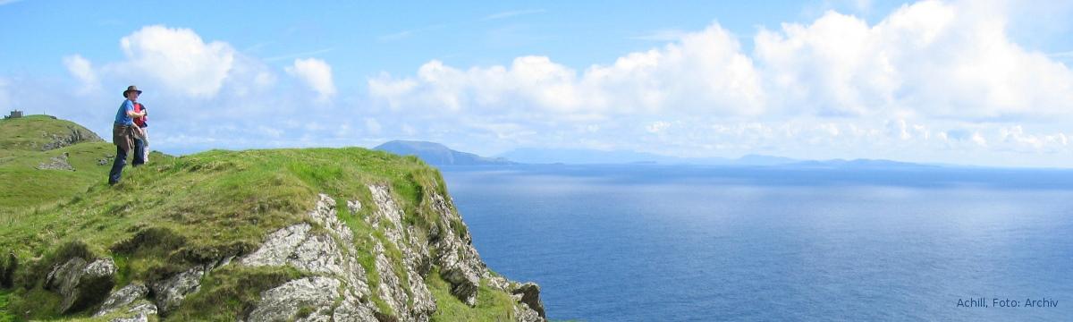Wandern entlang des Wild Atlantic Way