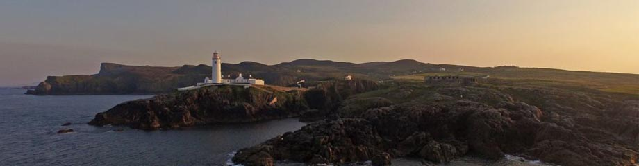 Donegal Fannad Lighthouse Irland