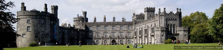 Irland Rundreise Bus Kilkenny Castle