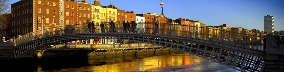 Rundreise Irland Halfpenny Bridge