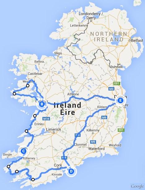 Busrundreise Irland