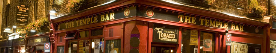 Busrundreise Temple Bar Dublin Irland