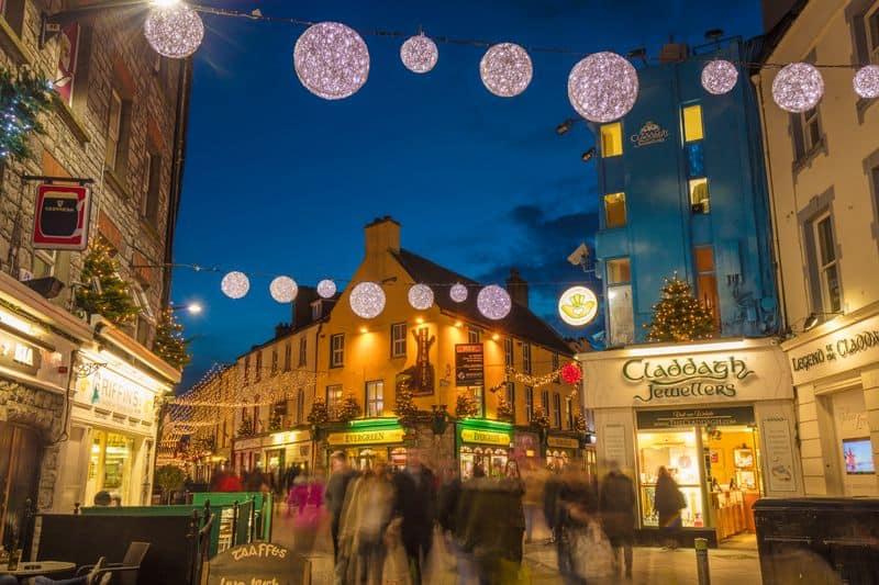 Weihnachtliches Galway