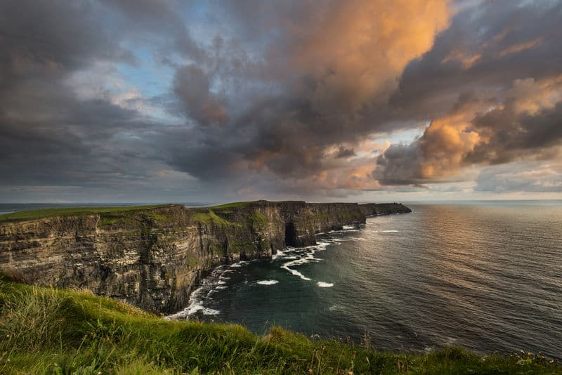 Fernwanderwege in Irland Cliffs of Moher