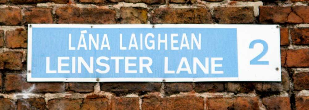 Irische: die wahre Sprahce Irlands