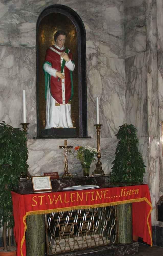 Valentinstag, Geschichte Irland