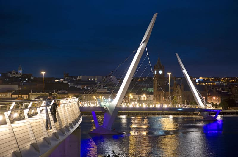 Derry – Londonderry, Peace Bridge