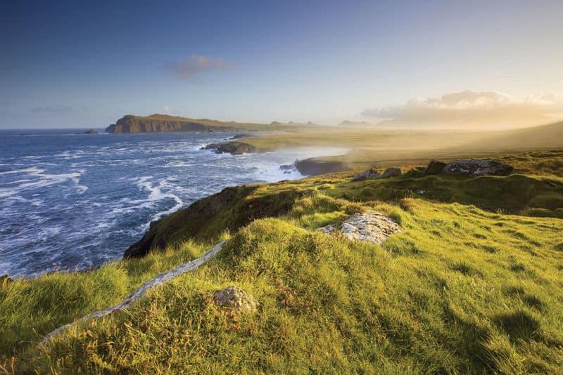 Küste des County Kerry