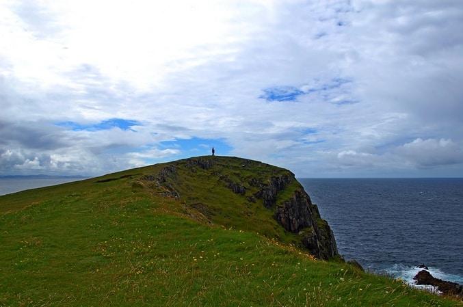 Klippen am Malin Head, County Donegal