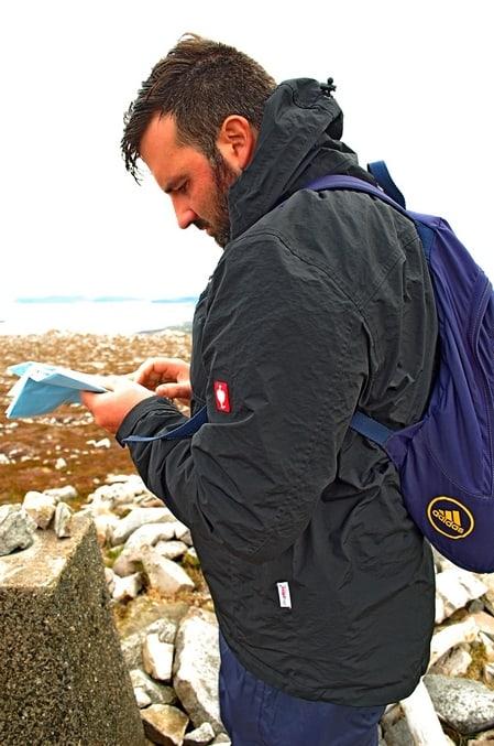 Navigation beim Wandern in Irland