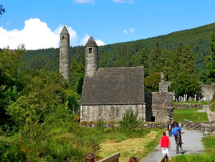St. Kevin's Church, Glendalough, Irland