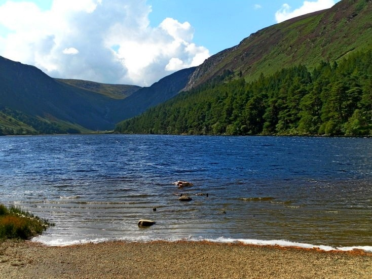 Upper Lake, Glendalough, Wicklow
