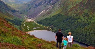 Wandern in Glendalough