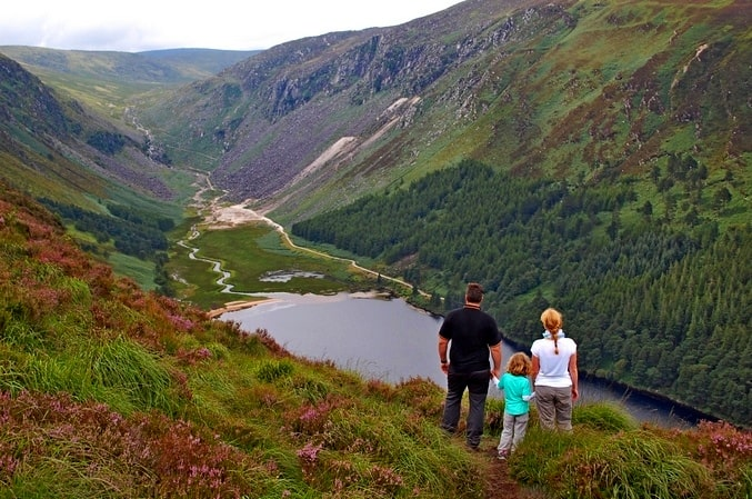 The Spinc, Glendalough, Wicklow, Irland