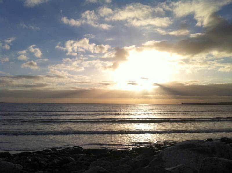 Surfen In Irland Gruene Inselde
