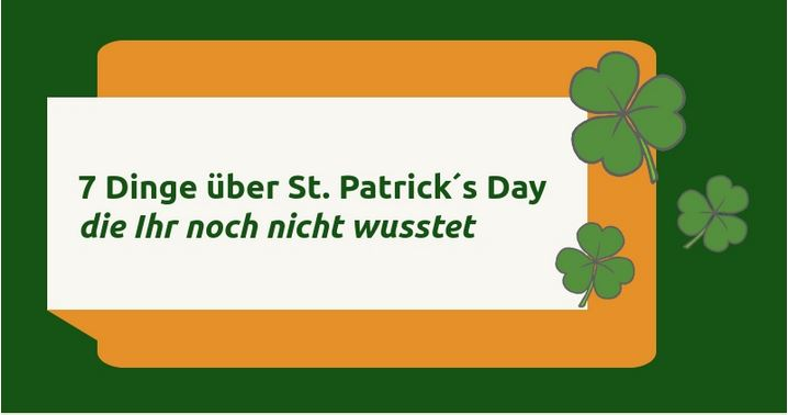 Fun Facts St. Patrick's Day