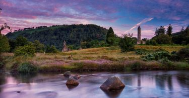 Glendalough die Klosterruine in Wicklow