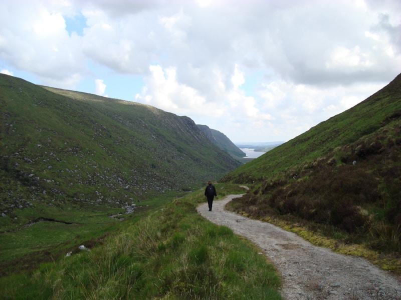 Fernwanderwege in Irland Glenveagh Nationalpark
