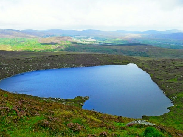 Lough Ouler Wicklow Mountains Nationalpark