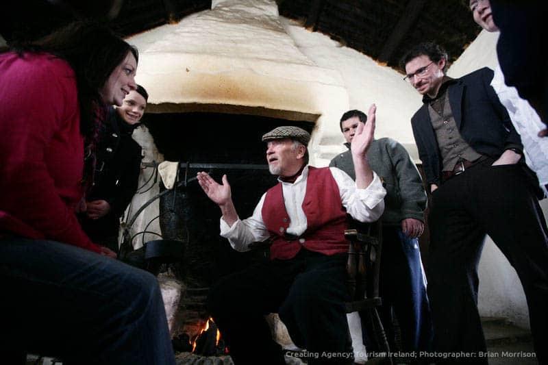 irischen Geschichtenerzähler