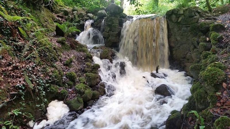 Birr Castle Wasserfall