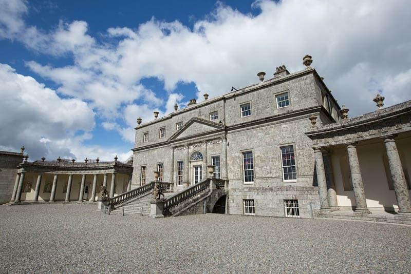 Russborough House Fassade