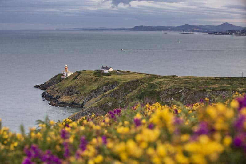 Howth Cliff Walk Baily Lighthouse