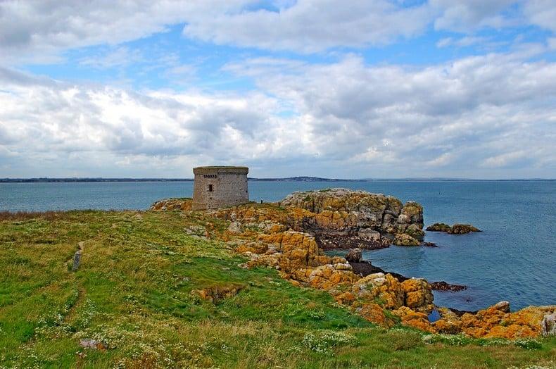 Howth Ireland's Eye Martello