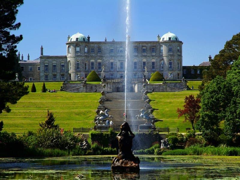 Powerscourt House Gärten