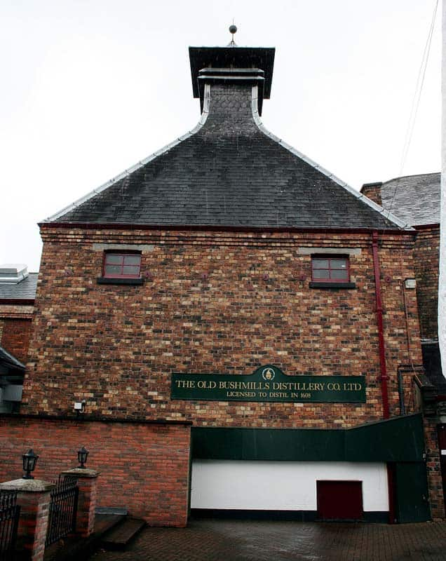 Old Bushmills Distillerie