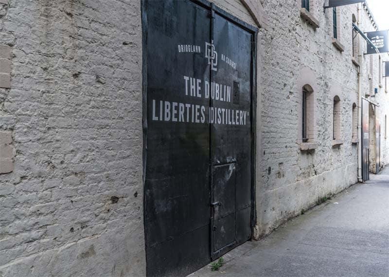 The Liberties Distillery Dublin Eingang