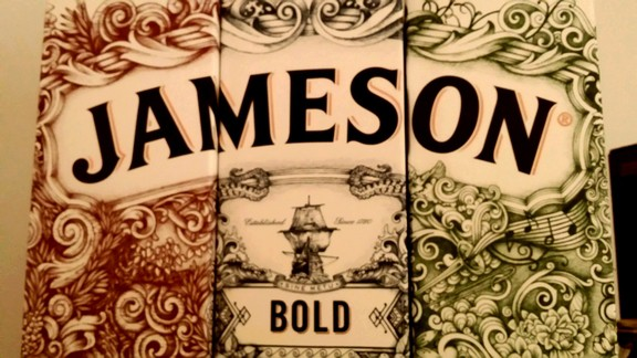 Jameson Whiskey Deconstructed Series