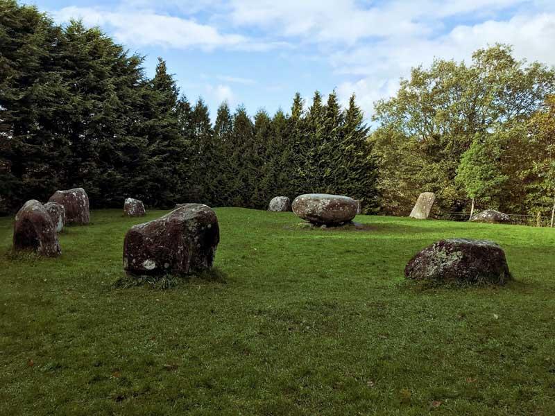 Steinkreis in Kenmare