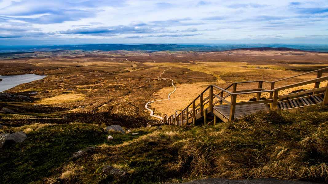 Einfache Bergtouren in Irland