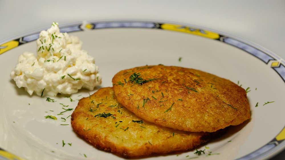 Irischer-Potato-Cake, irische Rezepte