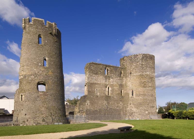 Irlands historischer Osten Ferns Castle