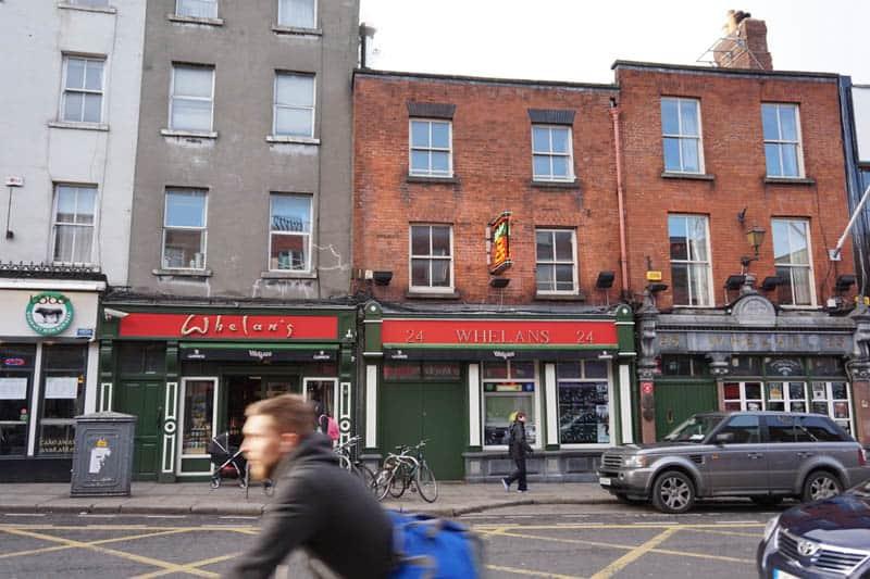 Whelan's Pub Dublin