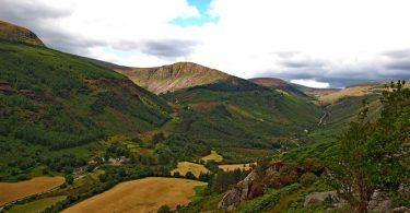 Wicklow Mountains Wicklow Way Wandern Glenmalure