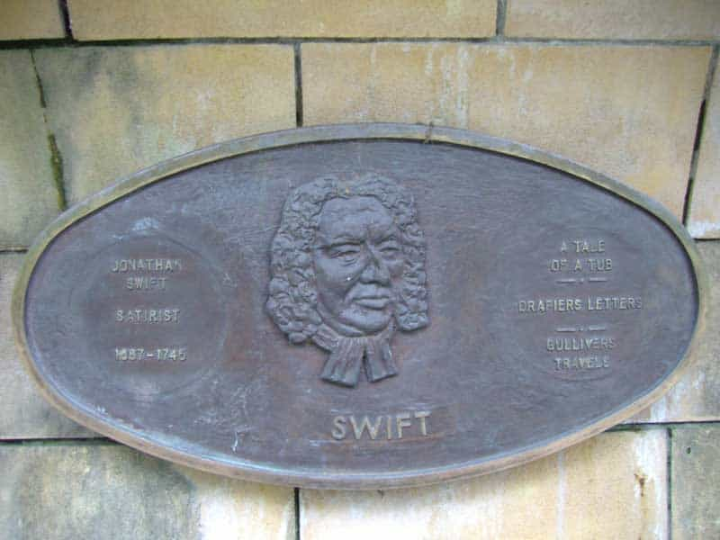 Jonathan Swift Plakette