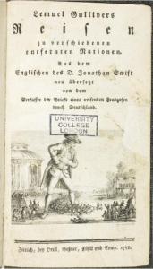 Gullivers Reisen von Jonathan Swift