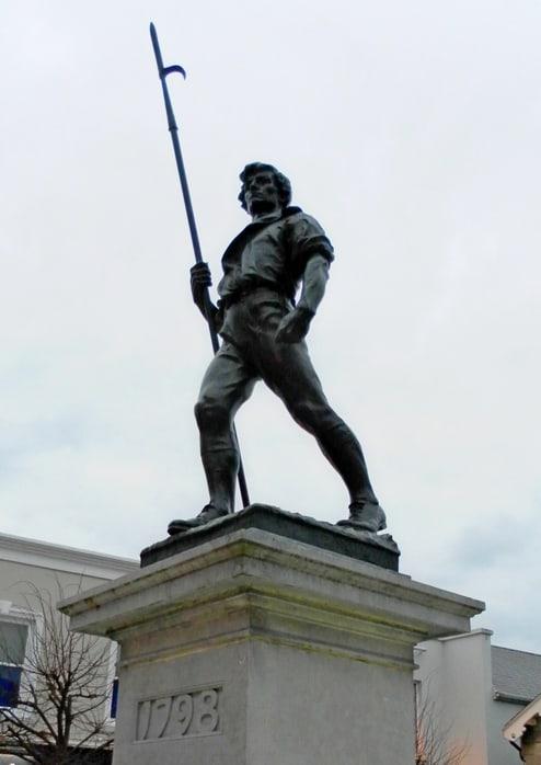 Irlands historischer Osten Wexford Rebellion 1798