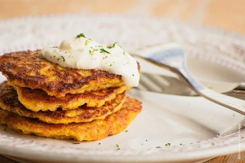 Potato Cake, irischer Kartoffelfladen