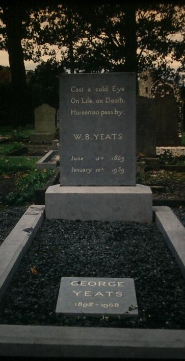 William Butler Yeats Grab