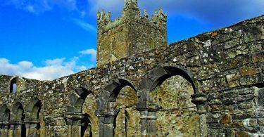 Jerpoint Abbey Kilkenny Irlands historischer Osten