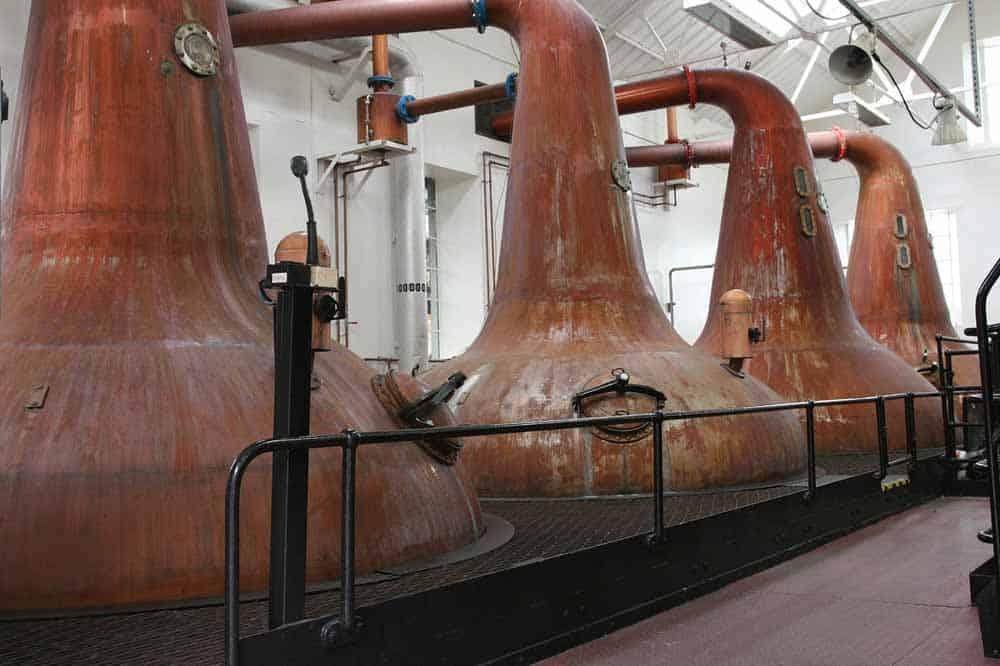 Irish Whiskey Brennerei