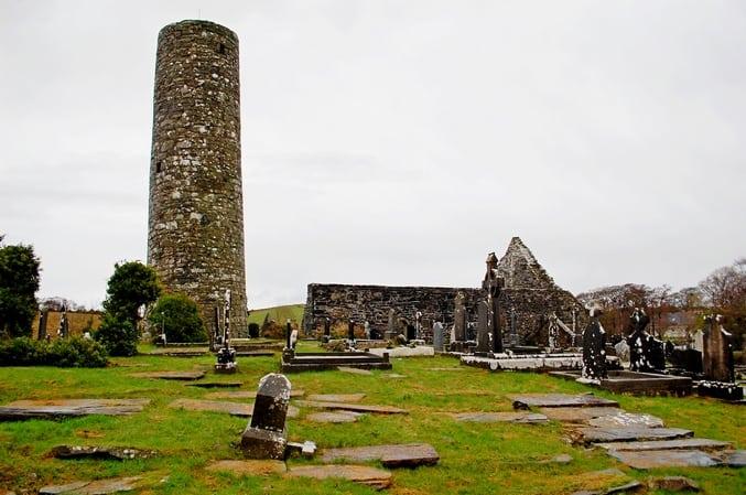 Tóchar Phádraig Aghagower Roundtower Rundturm